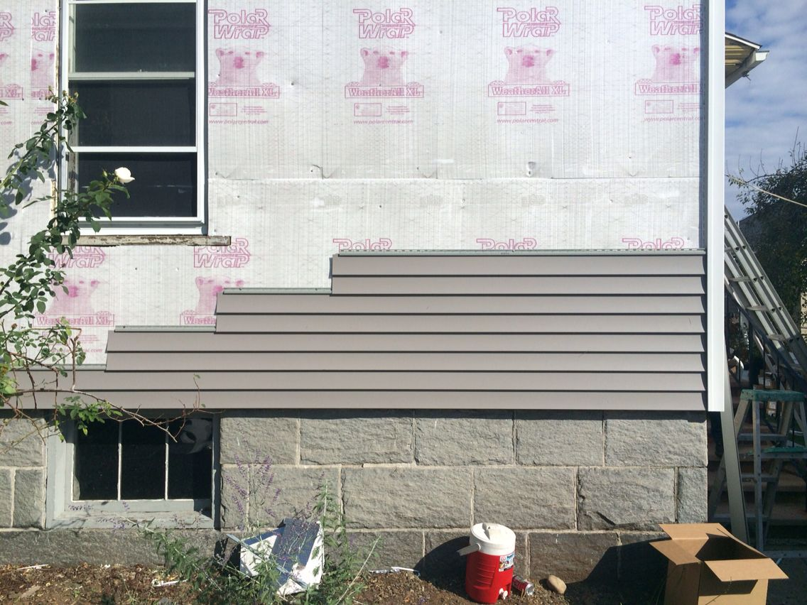 Certainteed Main Street Granite Gray Siding And Colonial