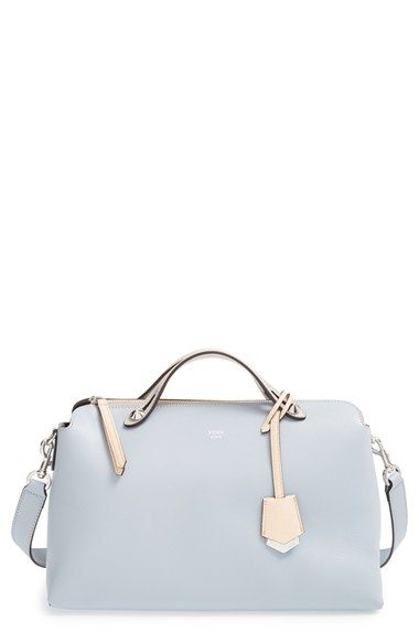 Fendi  Large By the Way  Leather Shoulder Bag available at  Nordstrom Love  the powder color 83c30ce715278