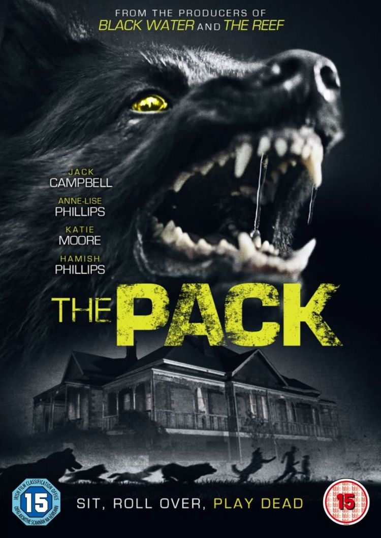 The Pack DVD Artwork Slasher movies, Movie posters