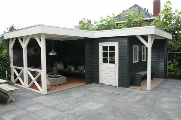 wie k nnen sie eine veranda bauen anleitung und praktische tipps garten pinterest garten. Black Bedroom Furniture Sets. Home Design Ideas