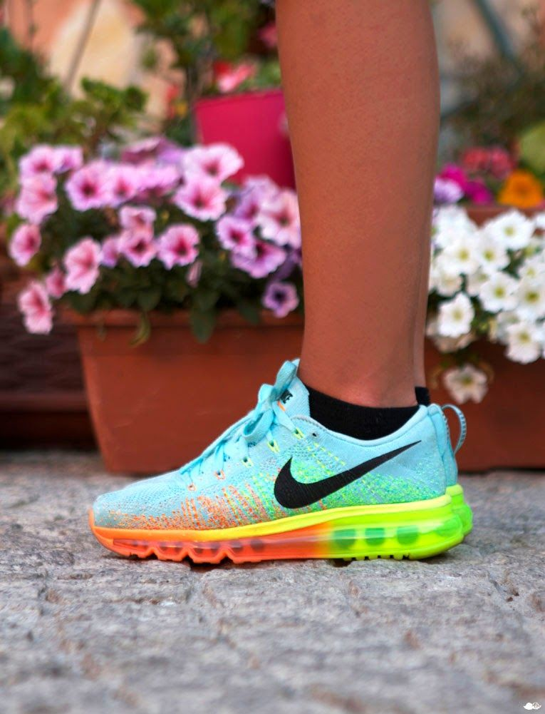 Nike Flyknit Air Max Men's Running Shoe. Nike LU