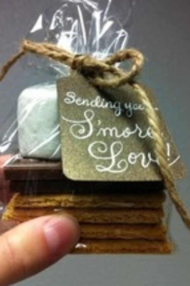 Especially Cool Wedding Favor If We Can Have Outdoor Fire Pit Or