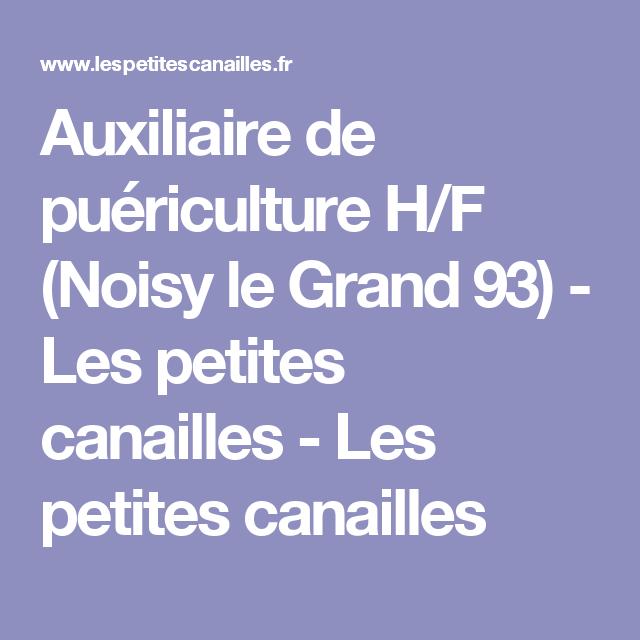 Auxiliaire de puériculture H/F (Noisy le Grand 93) - Les petites canailles - Les petites canailles