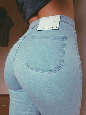 jeans denim denim pants high waist high