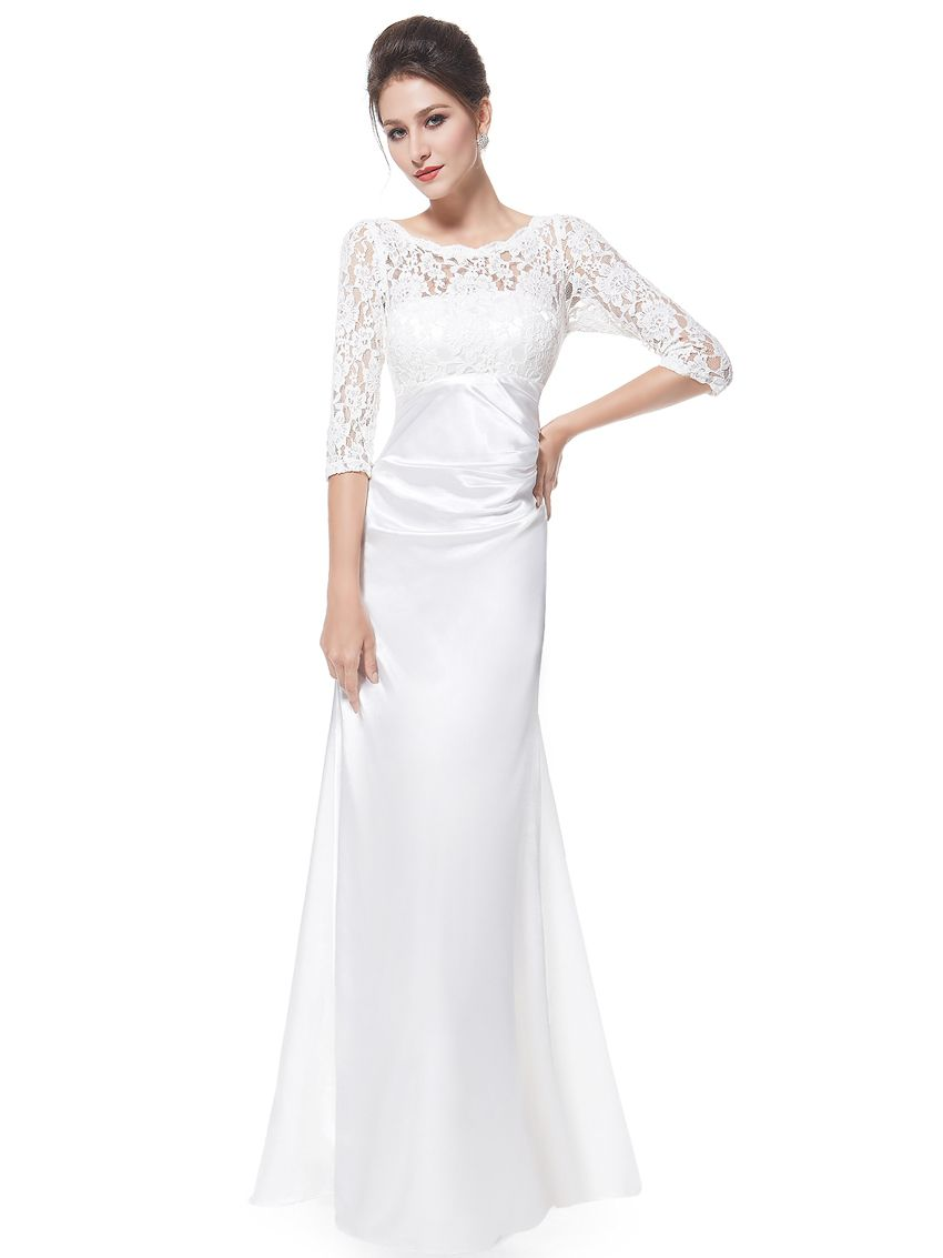Lace long sleeve formal evening dress final sale sapphire and