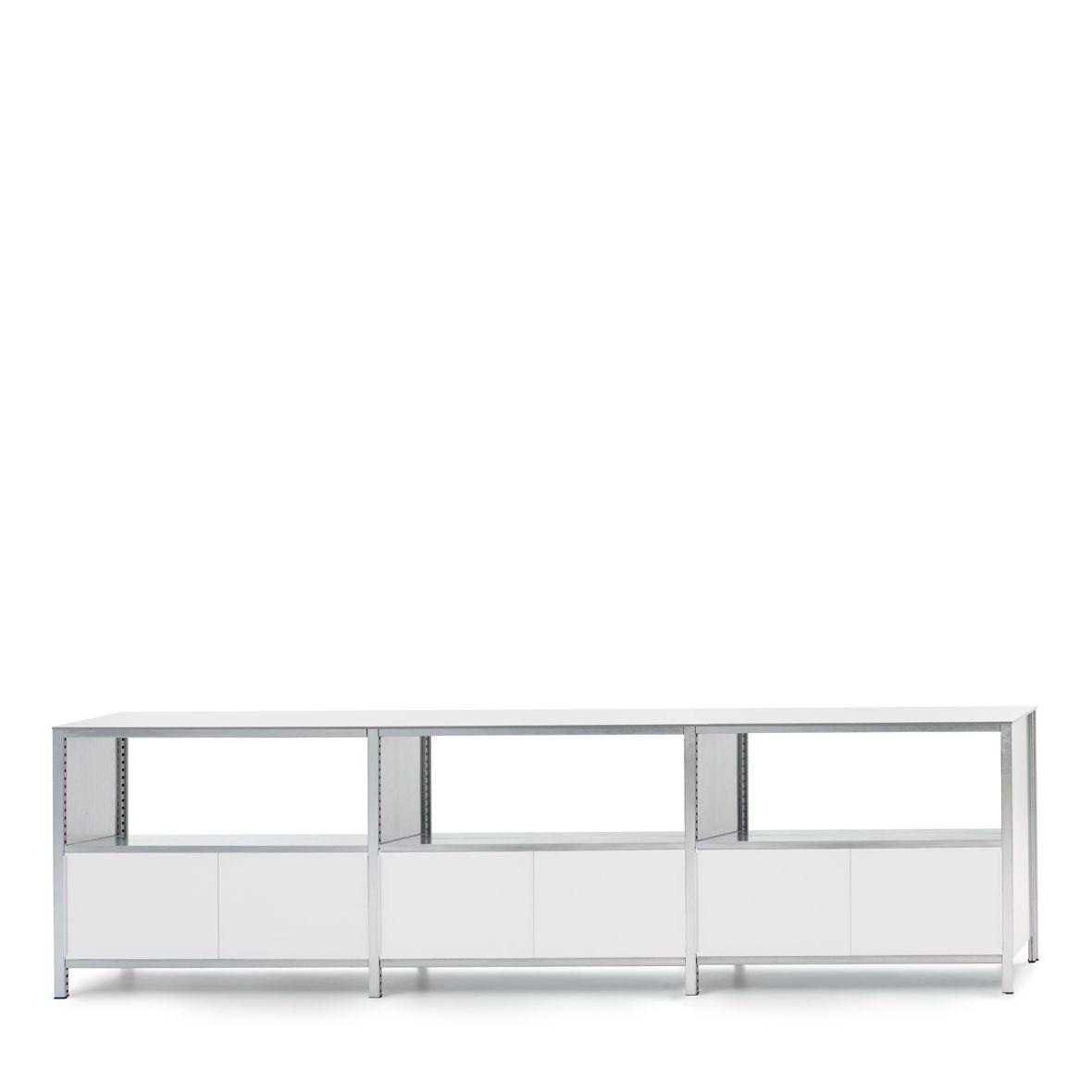 Mf System Langes Sideboard Mit Offnung Modernes Design Offenes Regal Lagerregale