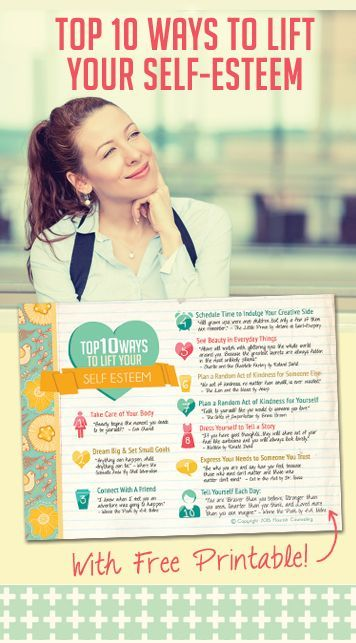 10 Ways To Boost Your Self Esteem