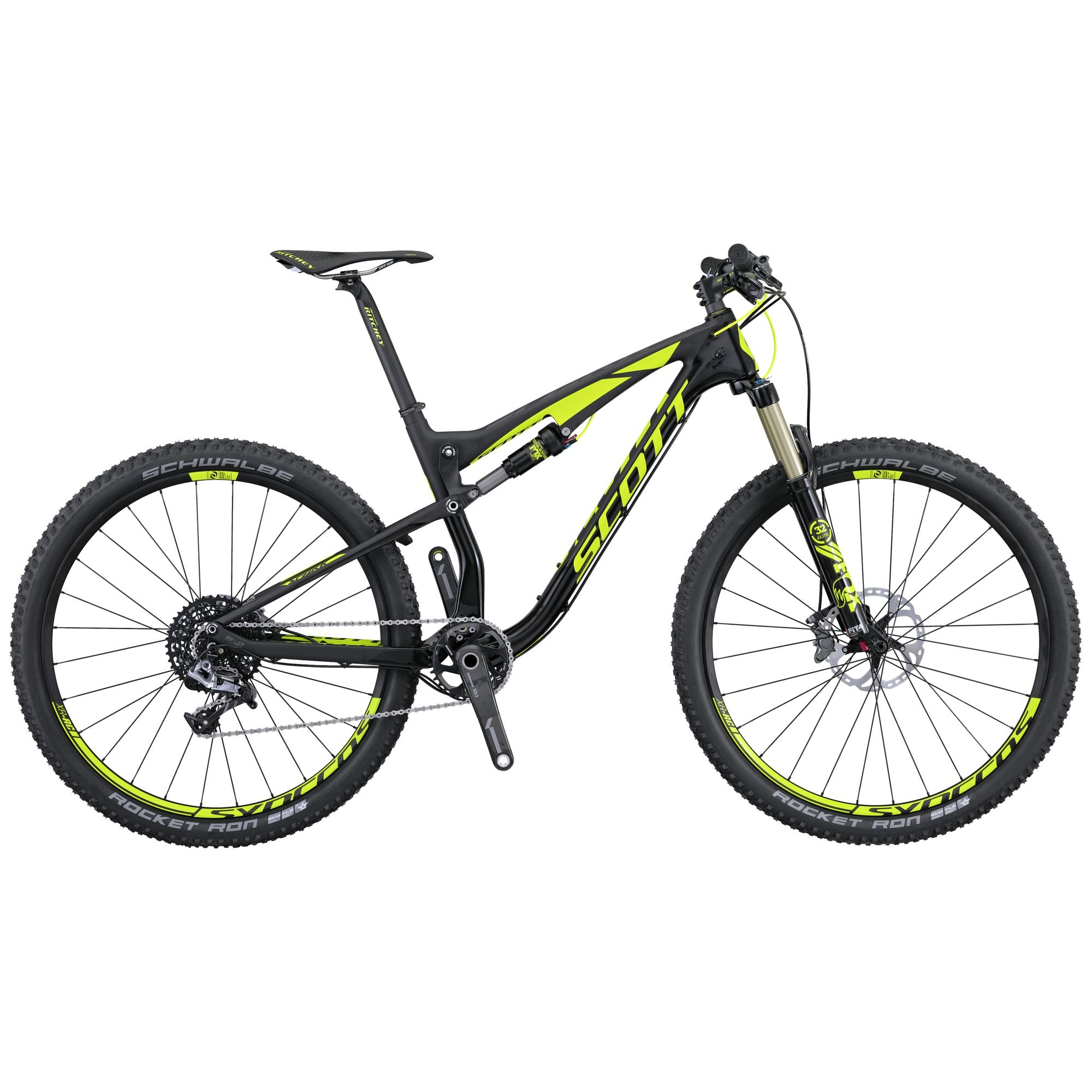 The SCOTT Spark 700 RC\'s HMX Carbon Fiber frame is one of the ...