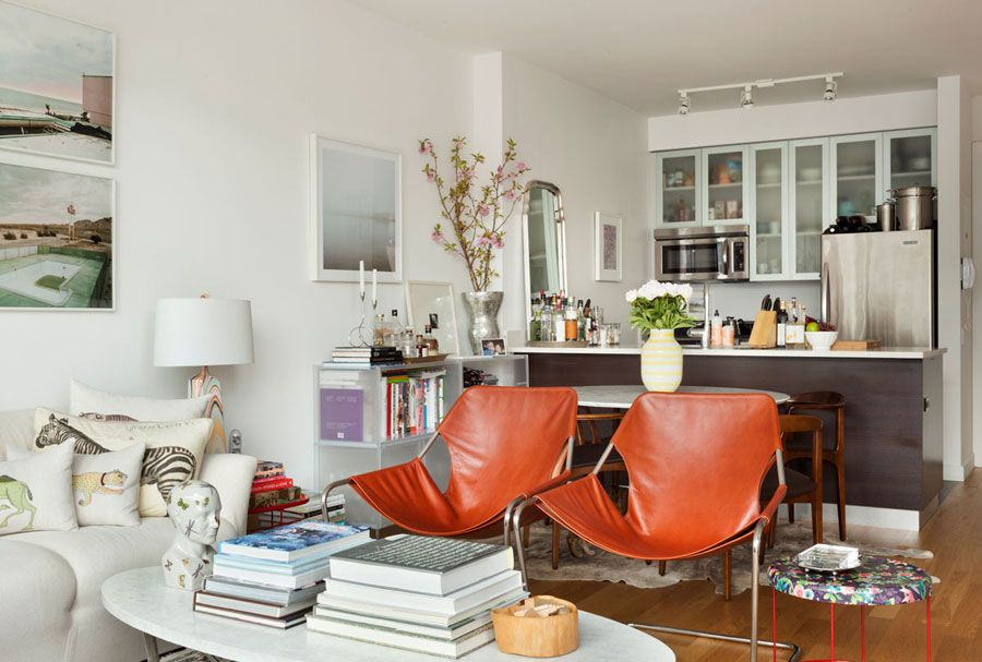 small new york apartment design - Eclectic Apartment Ideas