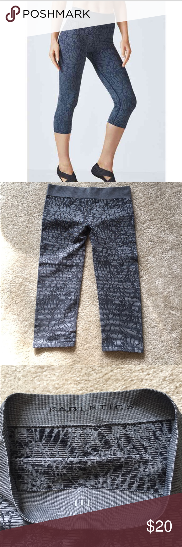 4cd1969b6e625b Fabletics Sebastian Seamless Tight Excellent condition, size small. Seamless  Crop tights. Super comfy for working out. Smoke free home.