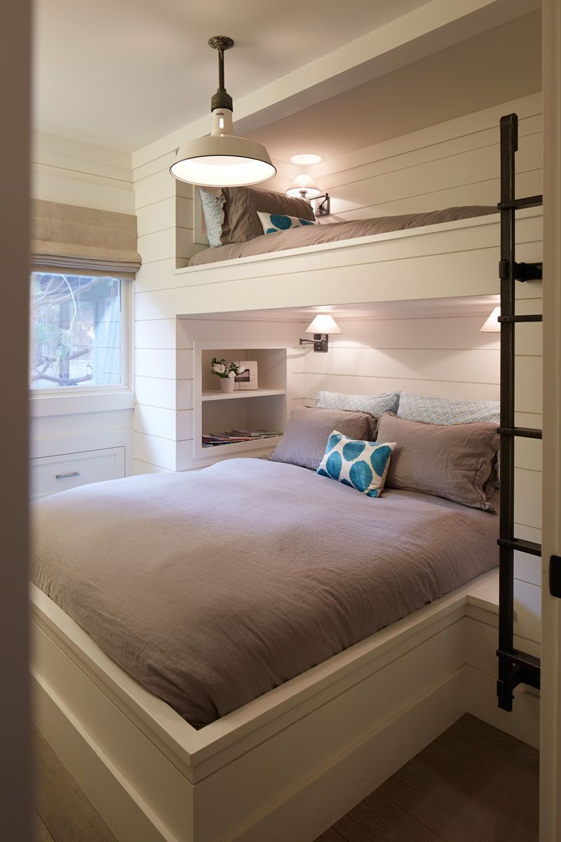 12 Examples Of Bedrooms With Built In Bunk Beds