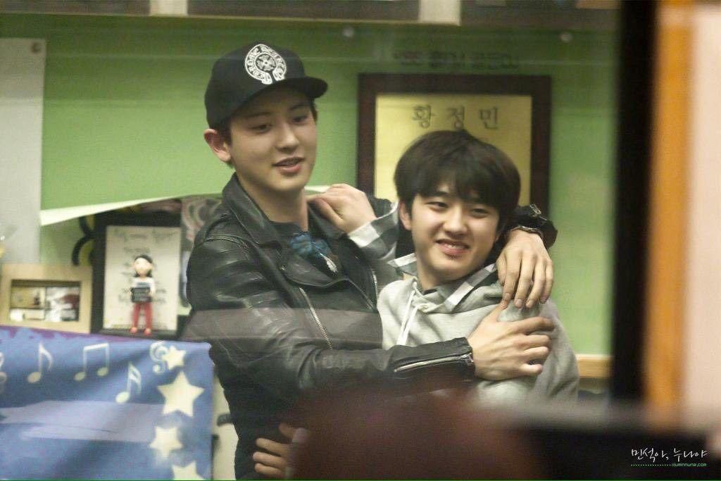 Kpop Chemistry Kpop Idols Kpop Idols Best Friends Kpop Best Friends Exo Chansoo Chemistry Idol