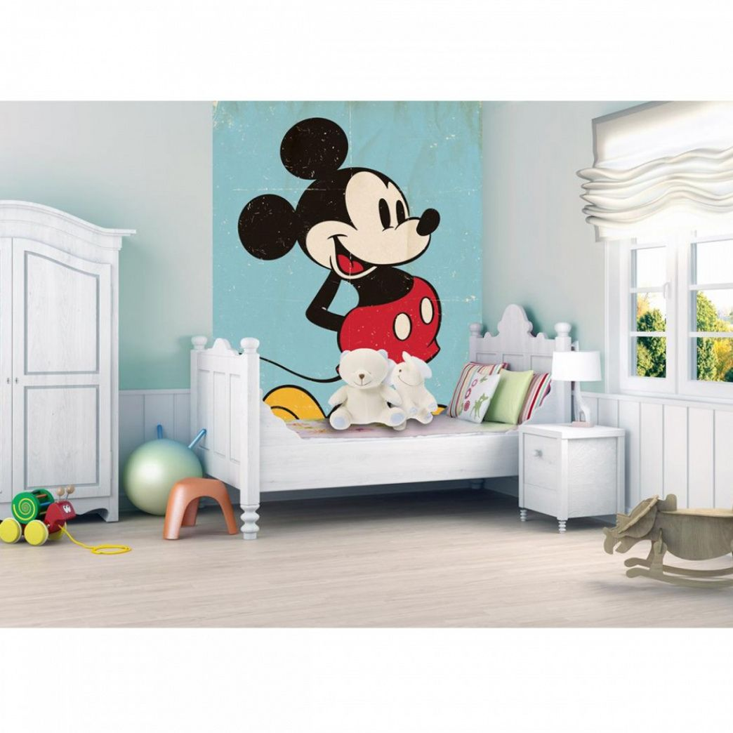 Best Mickey Mouse Bedroom Wallpaper Wall Art Ideas For 400 x 300