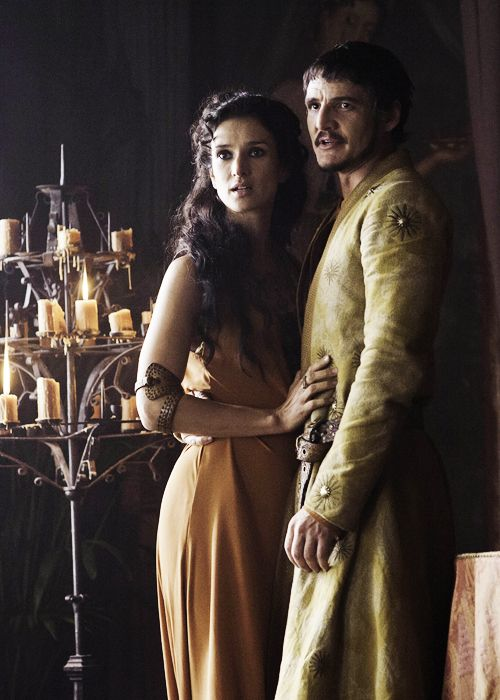 Game of Thrones:  Ellaria Sand and Oberyn Martell