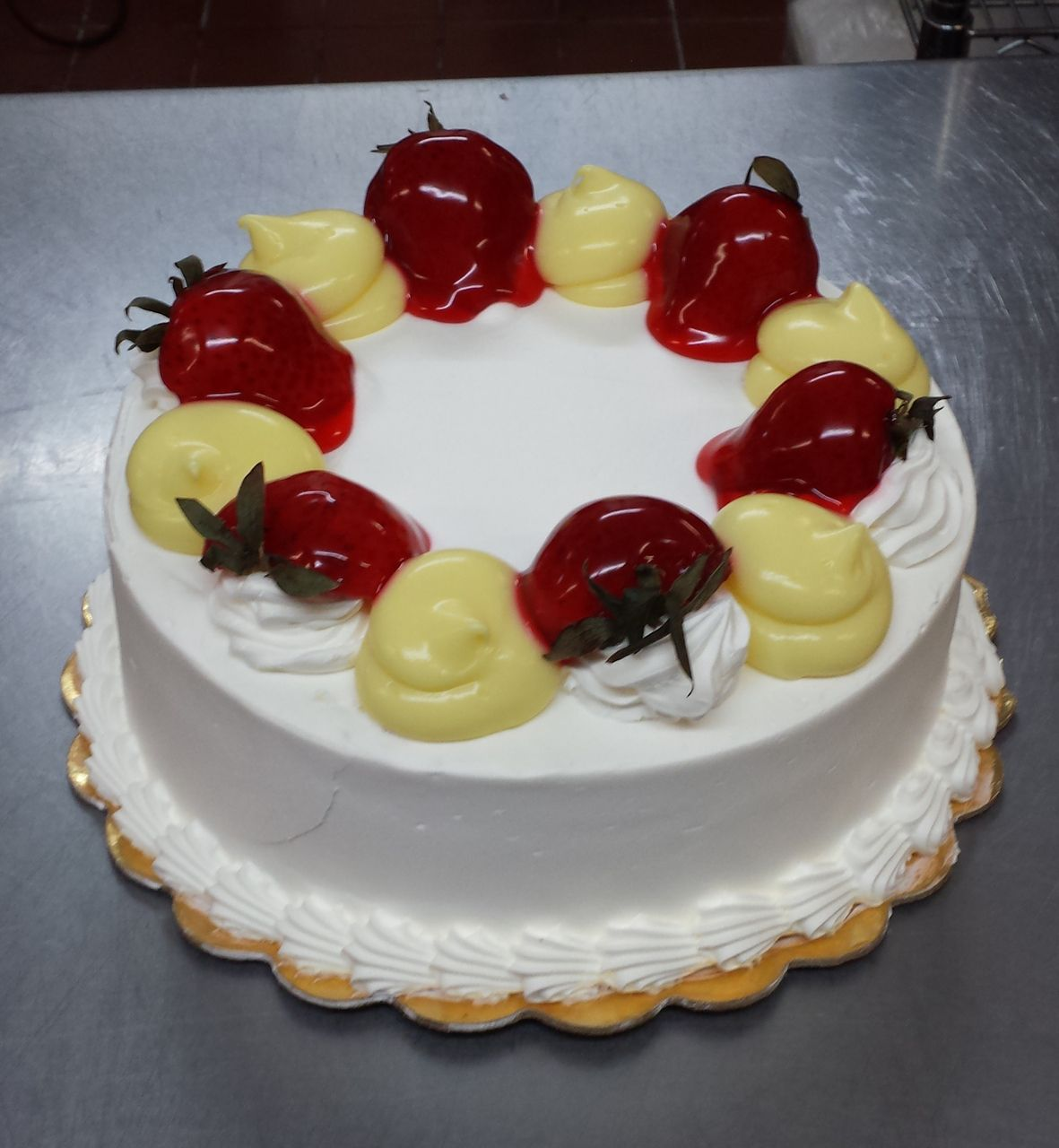 Tres Leches Birthday Cake With Fruit B Tres Leches Cake B Mixed