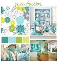 Image result for pale lime and turquoise decor