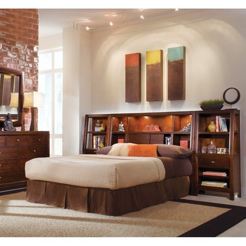 american drew tribecca bookcase nightstand  912402
