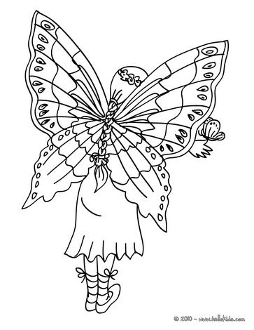 Fairy wings coloring page 4 oo m Pinterest Fairy
