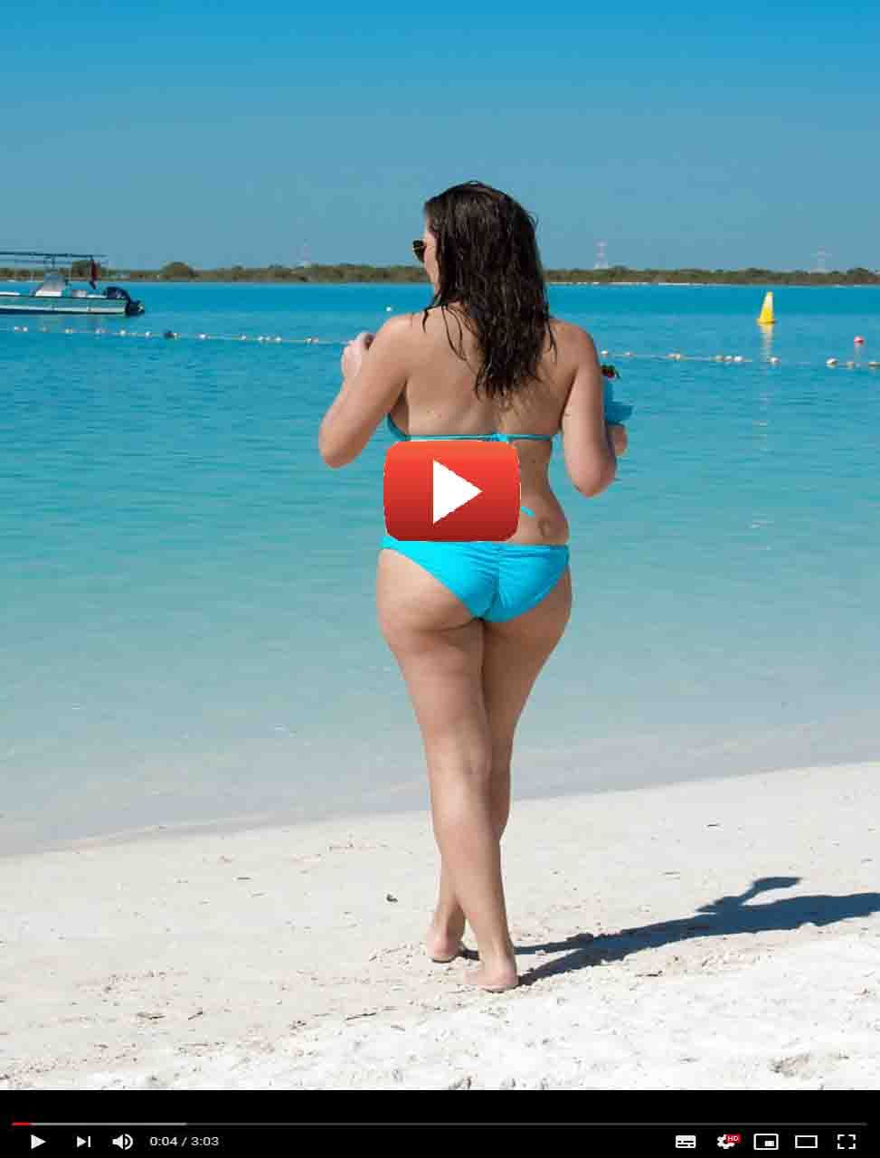 Imogen Thomas Looking Awesome In A Blue Bikini Easy Food To Make