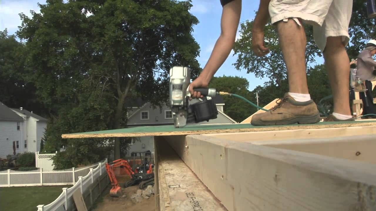 Sheathing Walls With Zip System Youtube Sheathing Home And Garden
