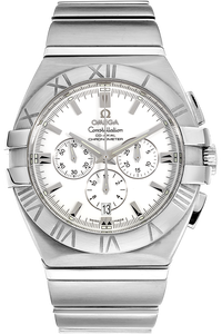 PRE-OWNED OMEGA Stainless Steel Constellation Double Eagle Chronograph Automatic