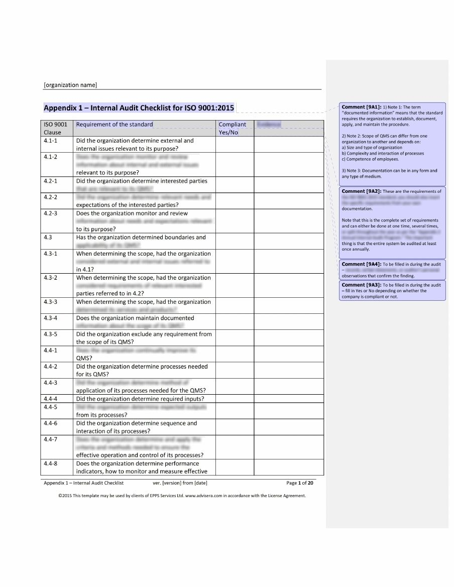 Iso  Audit Checklist What It Is How ItS Used And Why