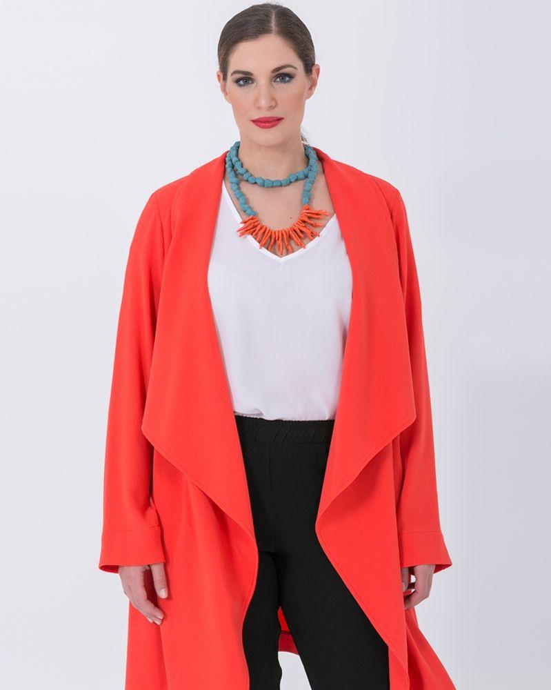 bf2c1d0d210e Κολιέ με κοράλια και πέτρες — mat. XXL sizes — Γυναικεία Ρούχα ...