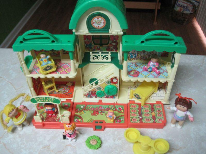 Cabbage Patch Kids Babyland General Hospital Playset Cabbage Patch Kids Cabbage Patch Cabbage Patch Dolls