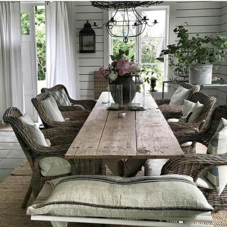 High Quality Französischer Stil, Französischer Landhausstil, Cottage Garten, Einrichten  Und Wohnen, Shabby Deko, Schöne Deko, Wohn Esszimmer, Zukünftiges Haus, ...