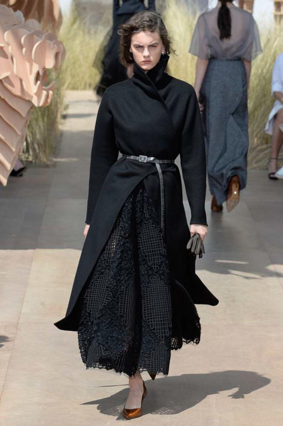 Robe noire dior 2018