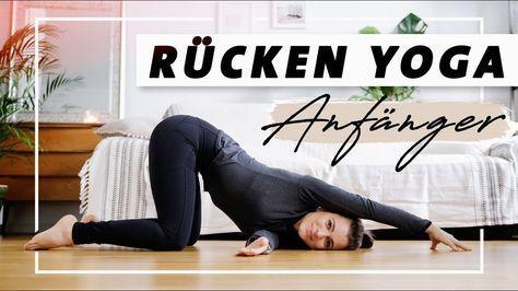 Yoga Rücken Anfänger Programm   Übungen gegen Verspannungen und Rückenschmerzen - YouTube #benefitsofpilates