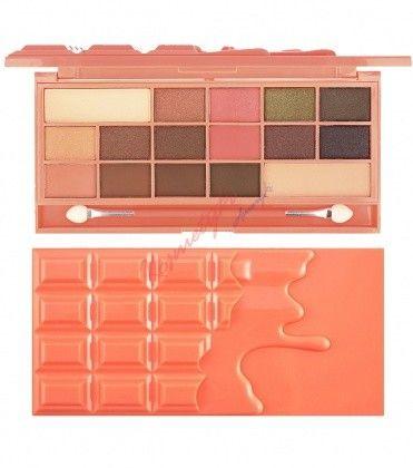 2adbde9e0255 Makeup Revolution Chocolate And Peaches Paleta 16 Cieni Do Powiek ...