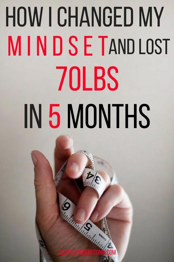 How to change your weight loss mindset (and why you should!)