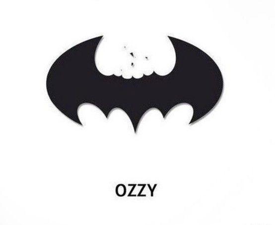 #Ozzy vs. #Batman