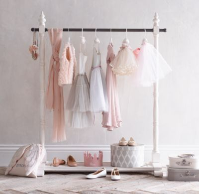 Rh Baby Child S Mini Wardrobe Rack Aficionados Of The Fine Art Dress Up Will Appreciate Our Garment Kid Friendly Size And
