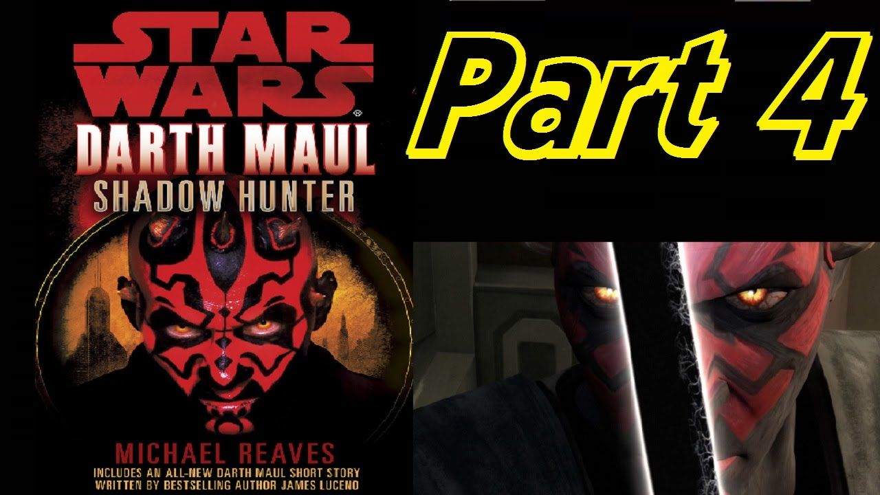 darth maul shadow hunter audiobooks star wars audiobook part 4