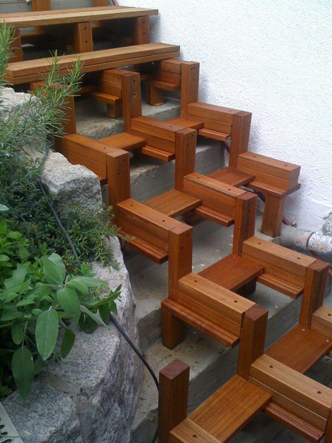 terrassen treppe selber bauen