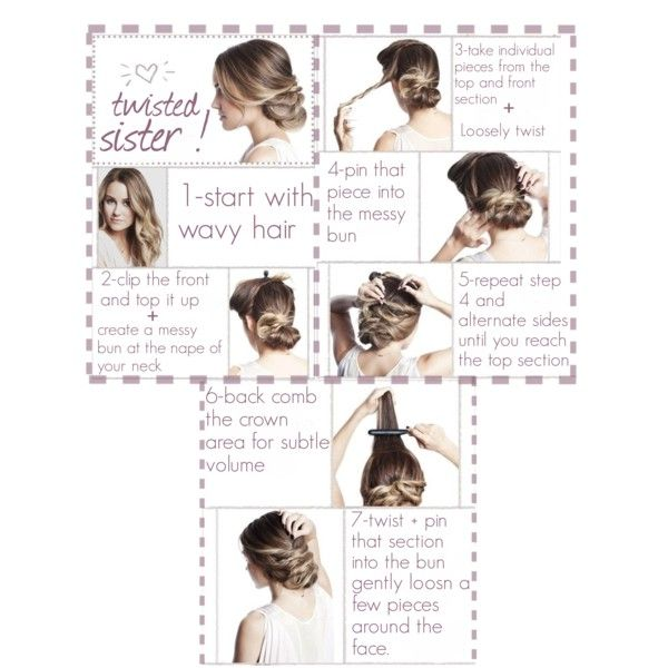 Twisted Sister Hairstyle By Sara Valentino On Polyvore