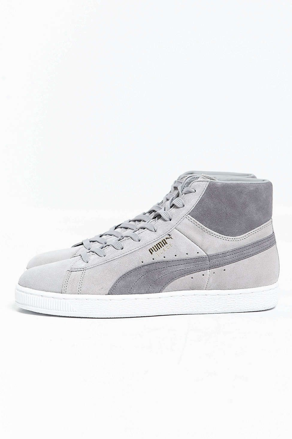 PUMA Men's Suede Mid Classic Sneaker Fashion Sneakers
