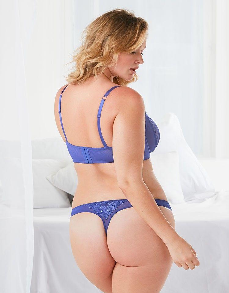 Estelle Plus 036 Web Estelle Blue Balconette Bras For Plus