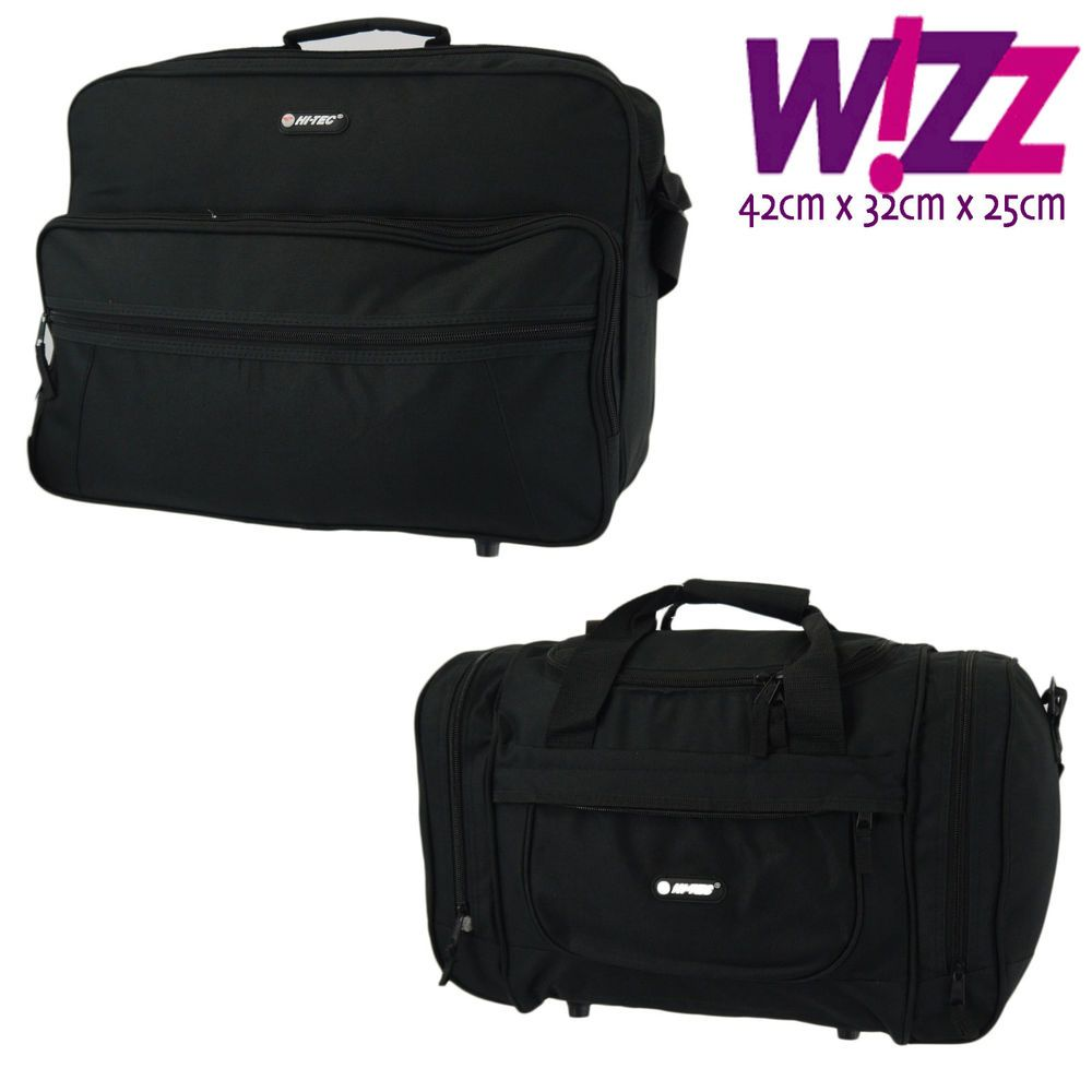 Wizz Air Cabin Bag Hand Luggage Fits In 42x32x25cm Massive 33 Litre Capacity Hitec Cabin Bag Hand Luggage Luggage