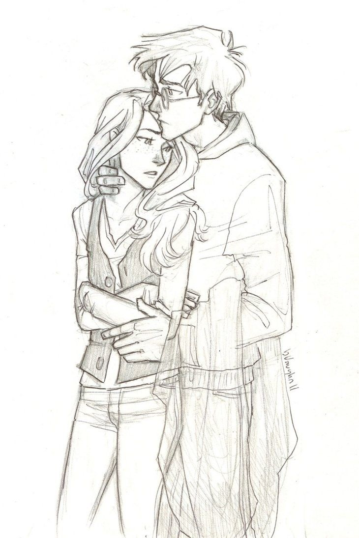 Harry And Ginny Hinny Harry Pottercan We All Just Take A