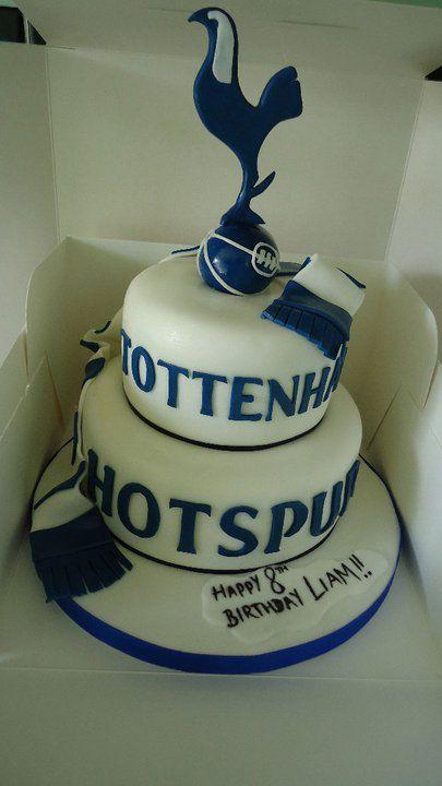 Tottenham Hotspur Cake Spurs Cake Tottenham Cake Football Cake