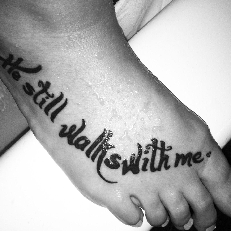 My first tattoo, for my grandpa. Dedication,  - Schöne Tattoo Sprüche