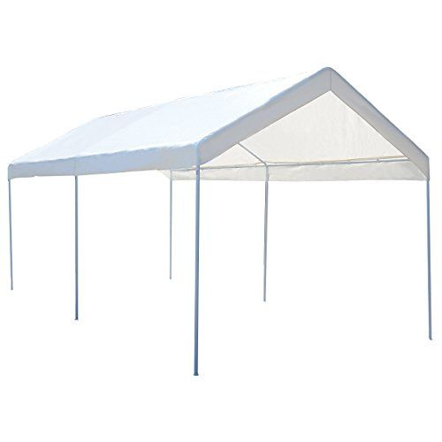 Tangkula 10 X 20 Heavy Duty Portable Car Carport Garage Cover Shelter You Can Find More Details By Visiting The Image Lin Cool Tents Carport Garage Carport