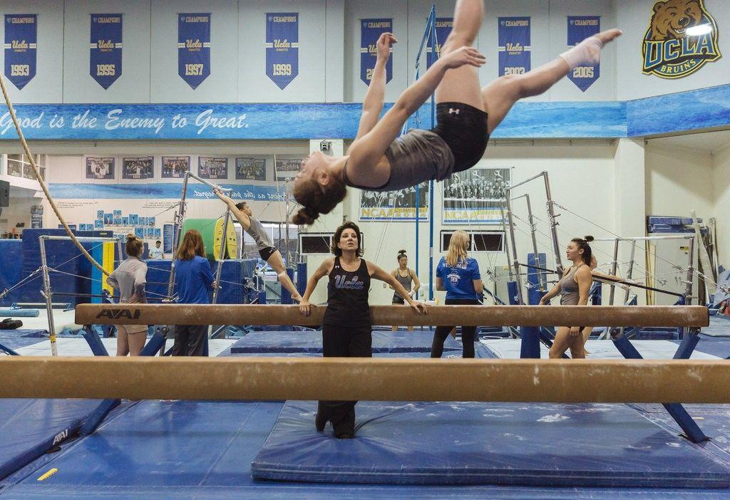 How a Ballet Dancer Brought Balance to U.C.L.A. Gymnastics