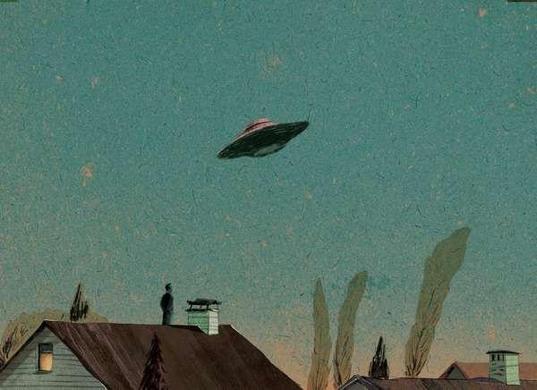 Hyper-Utopian Suburb Illustrations