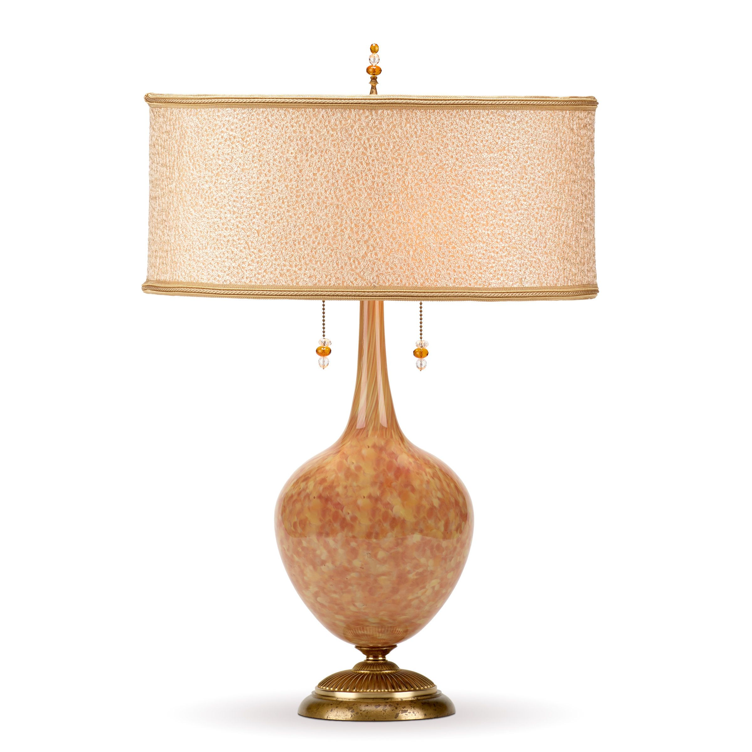 Stephanie By Susan Kinzig And Caryn Kinzig Mixed Media Table Lamp Artful Home Table Lamp Lamp Table Lamp Design