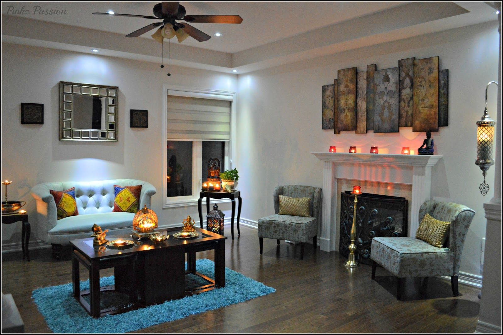 Diwali Inspiration - 2 (Home Tour) | ind | Pinterest | Diwali ... for Diwali Decoration Ideas For Living Room  45ifm