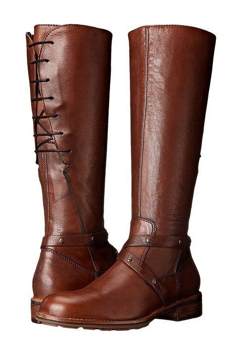 Wolky Belmore (Cognac Velvet Leather) Women's Shoes